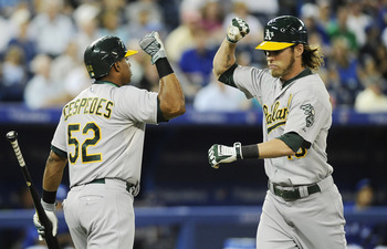Cespedes might get the headlines, but Josh Reddick has been the star for most of the season.