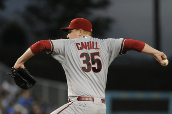 Cahill hasn't exactly lived up to expectations in Arizona. At least not the Diamondbacks' expectations.