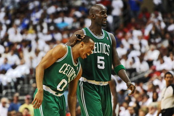 The two best defensive players on the Celtics
