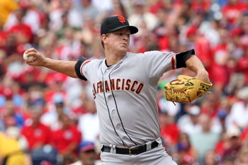 Matt Cain and the Giants' vaunted pitching staff can lead them to the playoffs
