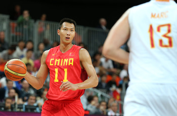 YI JIANLIAN STARS FOR CHINA IN THE 2012 SUMMER OLYMPICS