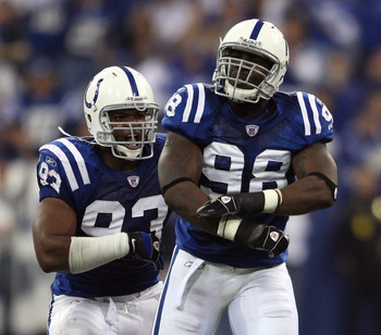 Dwight Freeney and Robert Mathis  Getty Images