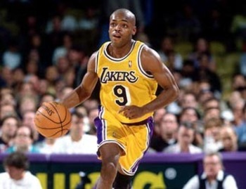 Nick Van Exel played for six teams during his NBA career, but spent the most time with the Los Angeles Lakers and Denver Nuggets.