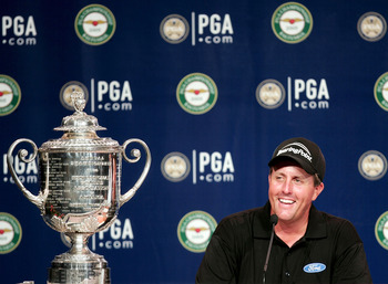 Phil Mickelson is in search of another PGA Championship