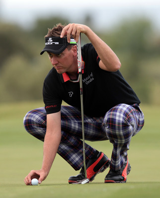 Ian Poulter would like to be known for more than his wardrobe