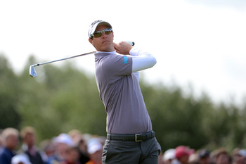 Nicolas Colsaerts is one of the longest guys on tour