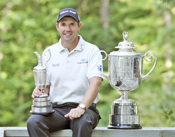 Padraig Harrington won the 2008 PGA Championship