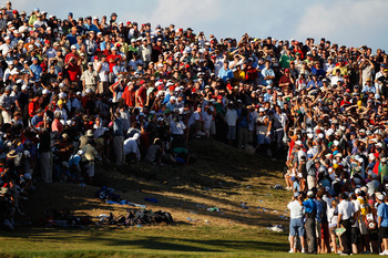 This bunker ended Dustin Johnson's chances at the 2010 PGA