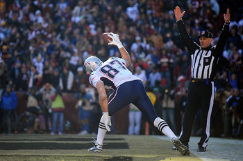 Rob Gronkowski is hoping for more touchdown spikes in 2012.