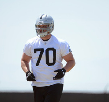 Among the new additions along the offensive line this season is left guard Mike Brisiel. Thearon W. Henderson/Getty Images