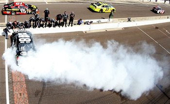 If Jimmie Johnson and Co. get hot, fans could see a lot more of this this season.