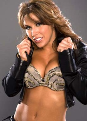 You: Mom, this is Mickie James. She may or may not have been in the ...