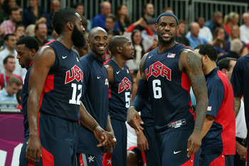 Team USA's average margin of victory in two games is 37.0 points.
