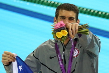 Michael Phelps made Olympic history in London