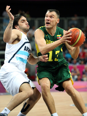 If Jasikevicius was quicker afoot, he would be a starter in the NBA