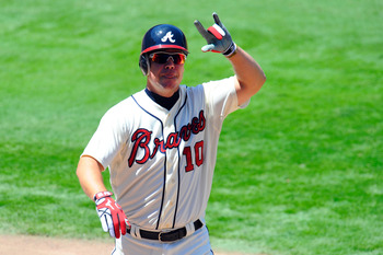 Chipper's last home series will come against the Mets with the playoffs possibly on the line.