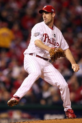 Cliff Lee in the 2009 World Series