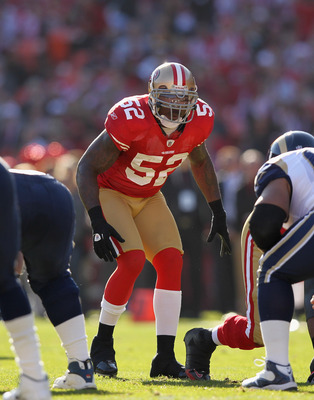 Patrick Willis is the leader of the 49ers' defense