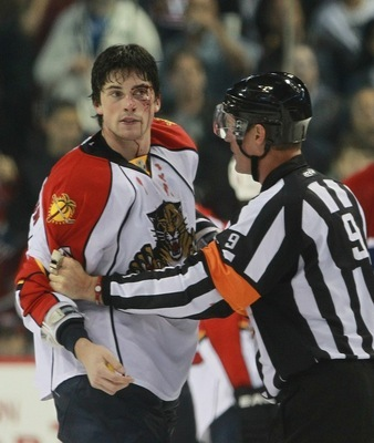 Erik Gudbranson will represent the toughness on the Florida blue-line, I reckon he'll do fine.