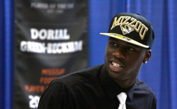 Missouri WR Dorial Green-Beckham / AP Photo/Mark Schiefelbein