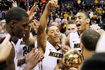 Men's Basketball paced the Missouri Tigers in 2011-12