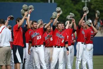Ole Miss baseball spent several weeks ranked in 2012