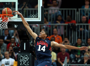 Anthony Davis will benefit from his Olympic experience much more than LeBron James.
