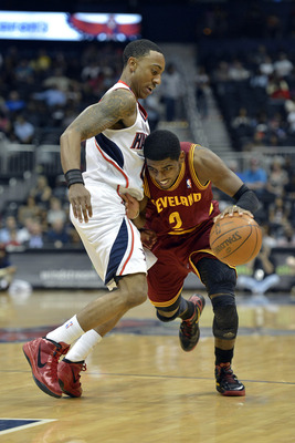 Kyrie Irving and Jeff Teague