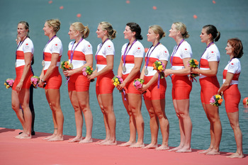 Canadian rowing team