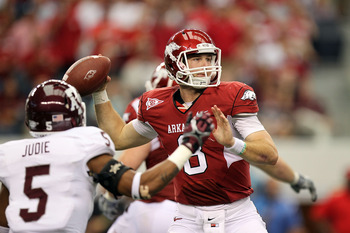 Many believe Tyler Wilson is the best QB in the SEC. He will need to be if Arkansas wants to push Alabama or LSU.