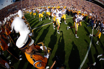 The high hopes at LSU this season rest squarely on one mans shoulder(s)...