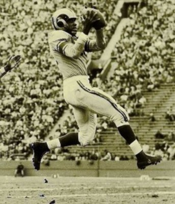"Dick ""Night Train"" Lane intercepted 14 passes in 1952, still an NFL record Photo credit: thewannabesportsguy.com"