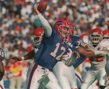 Jim Kelly and the Bills had few problems putting points on the board