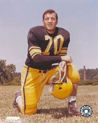 "Before there was a ""Mean"" Joe Greene in Pittsburgh, there was defensive tackle Ernie Stautner Photo credit: betyudidntknow.blogspot.com"