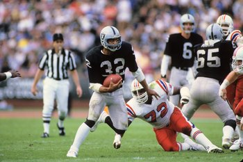 Marcus Allen scored 145 touchdowns with the Raiders and Chiefs (sixth in NFL history)