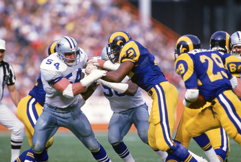 Randy White began his career with the Cowboys at linebacker, then turned into a Hall of Fame defensive tackle