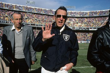 Hall of Famer Al Davis was the Raiders