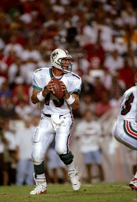 Only Brett Favre has thrown more touchdown passes in NFL history than Dan Marino