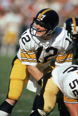 Terry Bradshaw was a four-time Super Bowl champion with the Steelers