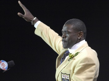 Few will ever forget Michael Irvin's inspiring speech during his Hall of Fame enshrinement