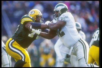 Reggie White was a star with the Eagles and later, a Super Bowl champion with the Packers