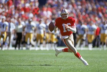 Joe Montana was near flawless in four Super Bowl appearances with the 49ers