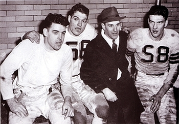 The legendary Paul Brown was one of the game's most influential head coaches Photo credit: oldschoolfb.com