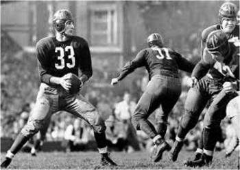 Redskins' quarterback Sammy Baugh was also an exceptional punter