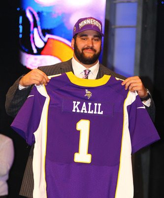 Kalil selected number four overall