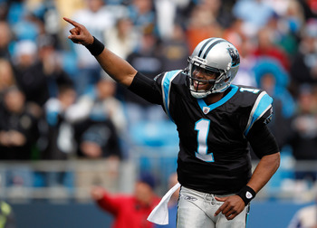 Carolina, led by Newton (pictured) will have to mature to compete