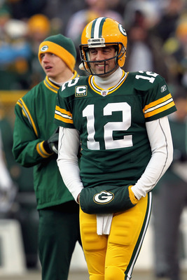 The season begins in January for Rodgers (pictured) and the Packers