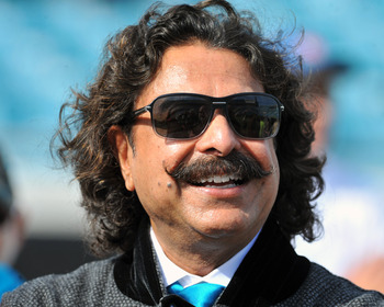 Khan (pictured) and the Jaguars are in some deep trouble