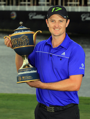 Justin Rose won the 2012 WGC-Cadillac at Doral.