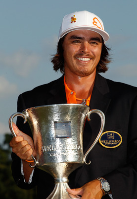 Rickie Fowler won his first PGA Title at the Wells Fargo.